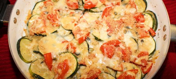 Classic ZucchiniTomato Bake