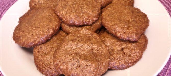 Crispy Crunchy Walnut Cookies